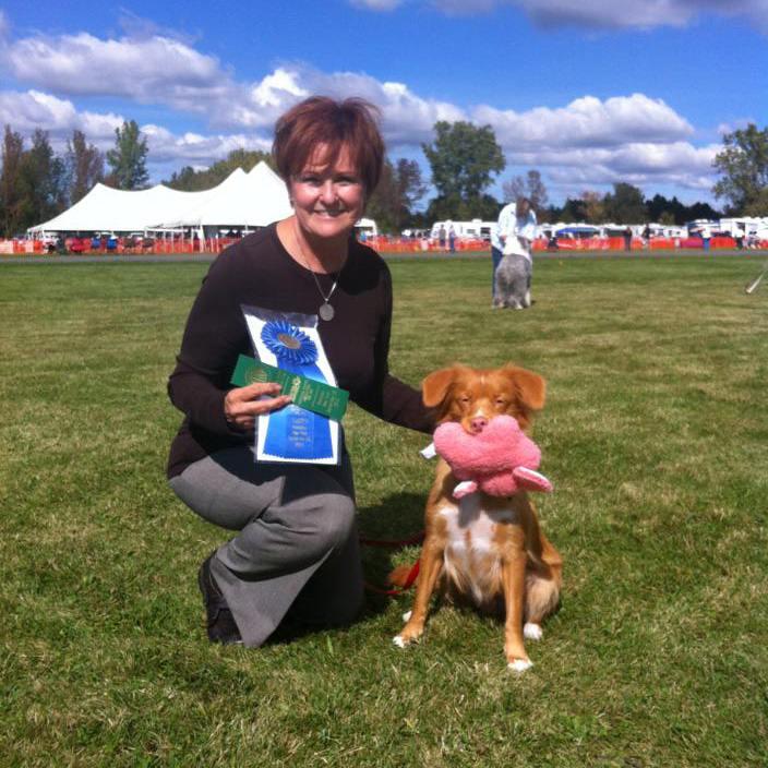 toller obedience winner